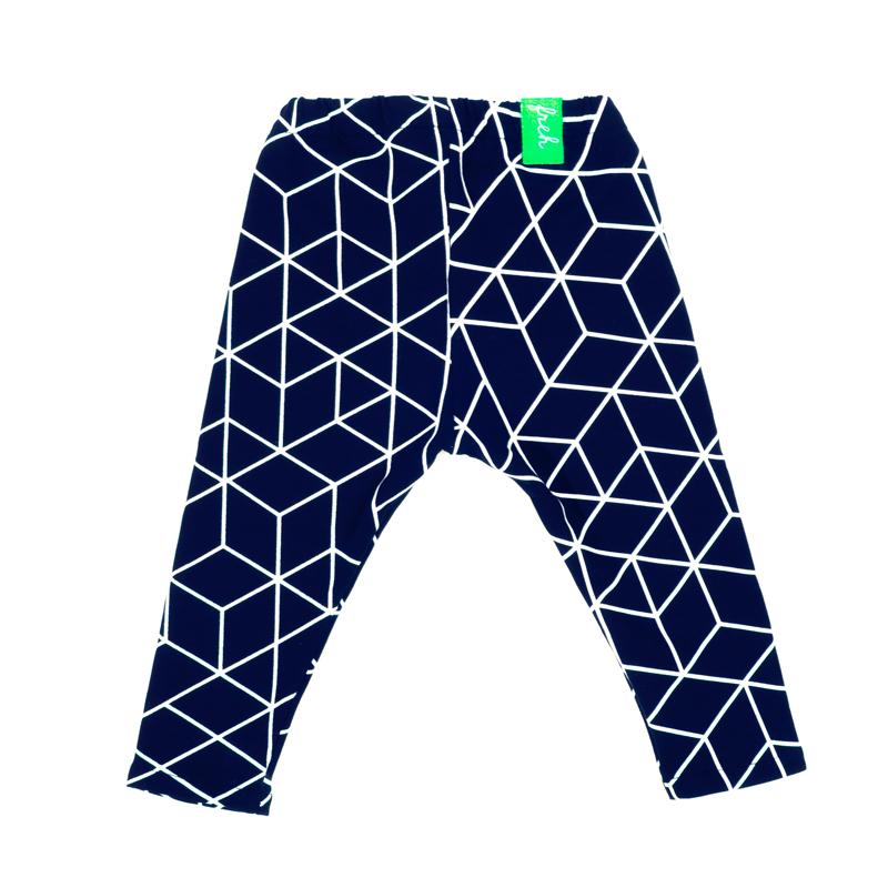 freh leggings blau