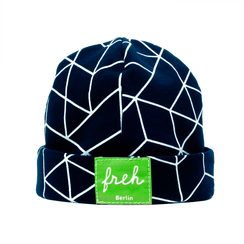 freh Mütze blau