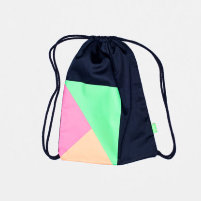 freh gym bag blue neon