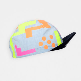 freh Cycling Cap Yellow / Pink