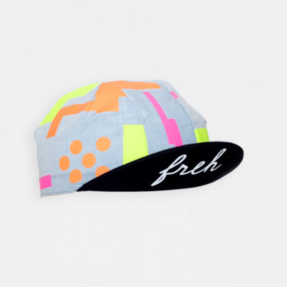freh Cycling Cap Yellow / Pink